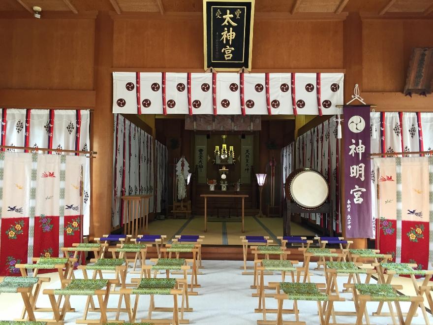 神明神社についてのご案内